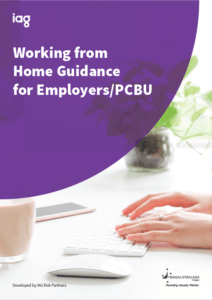 Working from home guidance for employers pcbu